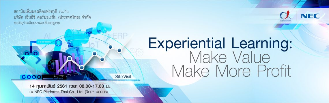 Experiential Learning: Make ValueMake More Profit
